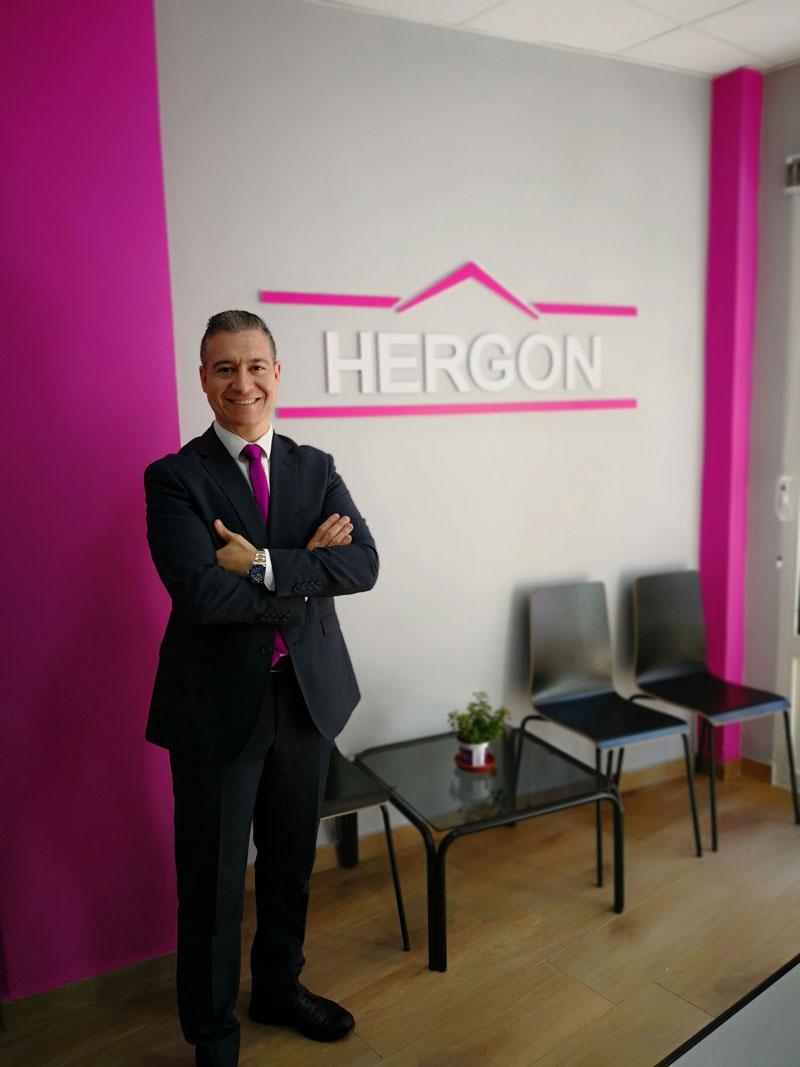 Raul Gonzalez, responsable de Hergon Consulting Inmobiliario, tu inmobiliaria en Getafe