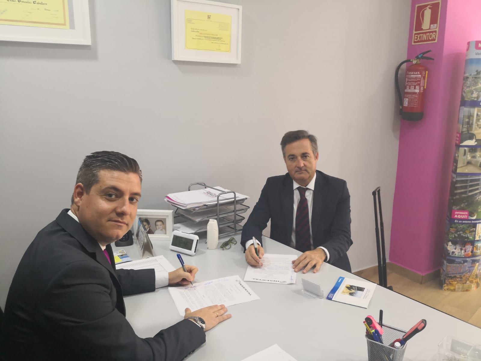 Firma del acuerdo de colaboración con Marina D´Or